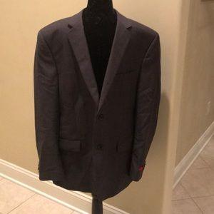 Alfani Suit Jacket sz 46S Carcoal NWT
